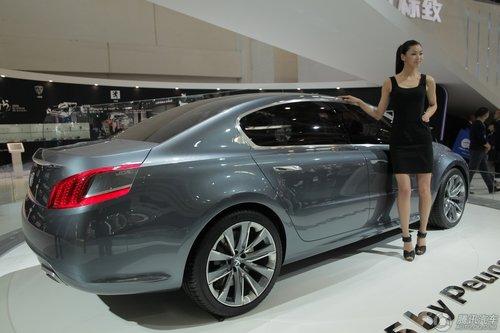 标致5 by Peugeot概念车