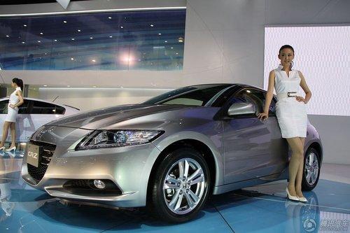 [新车解析]主打运动型 本田CR-Z混合动力