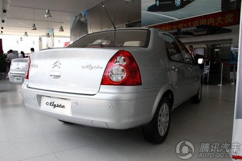 2010款新爱丽舍三厢 1.6L自动科技型 到店实拍