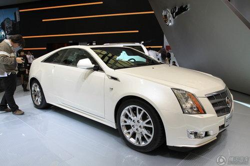 [新车解析]凯迪拉克CTS Coupe车展亮相