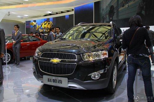 [新车解析]雪佛兰小改款科帕奇未来或国产