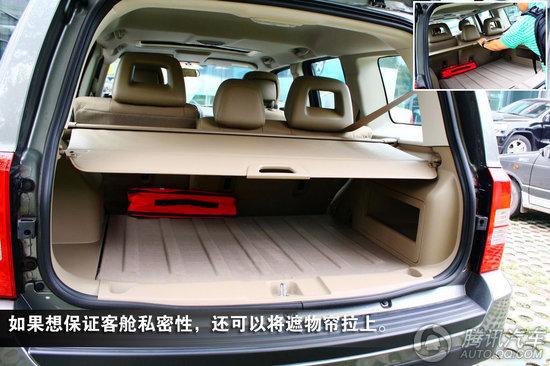2011款 Jeep自由客 2.4 经典升级版 重点图解