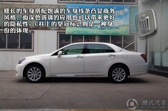 [新车实拍]丰田皇冠2.5l天窗特别版到店_汽车_腾讯网
