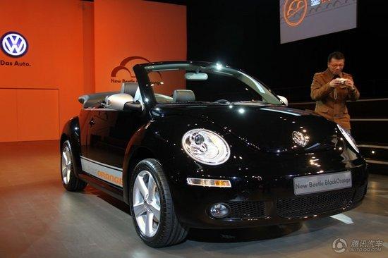 2010款 甲壳虫 2.0L 墨橘敞篷豪华版 上市实拍
