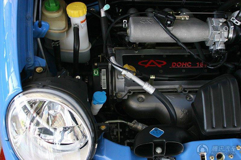 qq3 1.1mt 发动机舱细节
