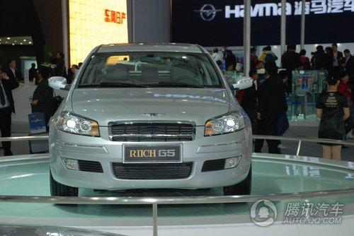 瑞麒G5 TGDI车展上市 售15.28-16.68万元