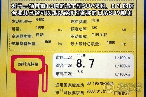北京现代ix35 重点图解