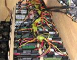 高人打造70TB移动硬盘