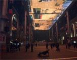 疯狂玩家包下世贸天阶最大LED屏玩网游