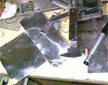 手工打造铝制D壳盖板