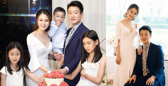 佟大为关悦纪念10周年结婚,一家五口罕见合照