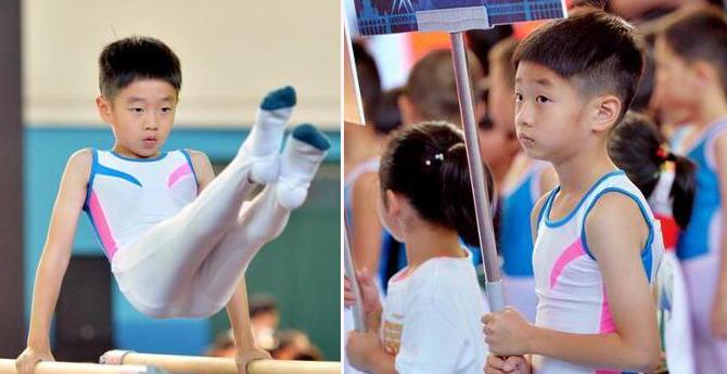 子承父业!杨威儿子杨阳洋参加体操比赛