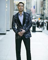 杨祐宁长腿撩动纽约时装周
