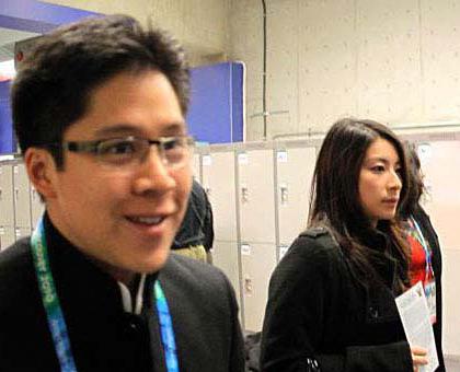 2010年2月13日,霍启刚和郭晶晶一同现身加拿大温哥华,出席冬季奥运会开幕仪式