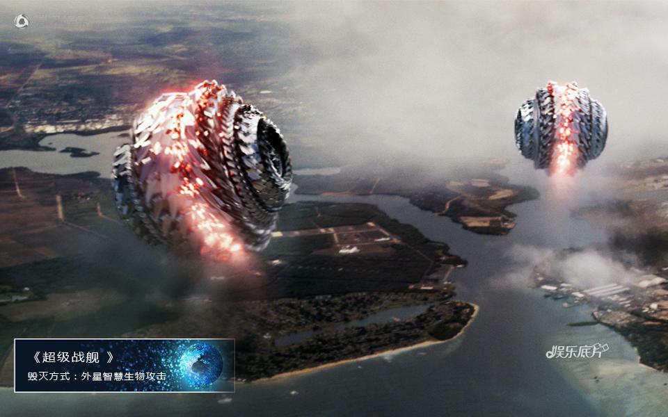 《娱乐底片》第28期:电影毁灭地球的N种方式_超级战舰