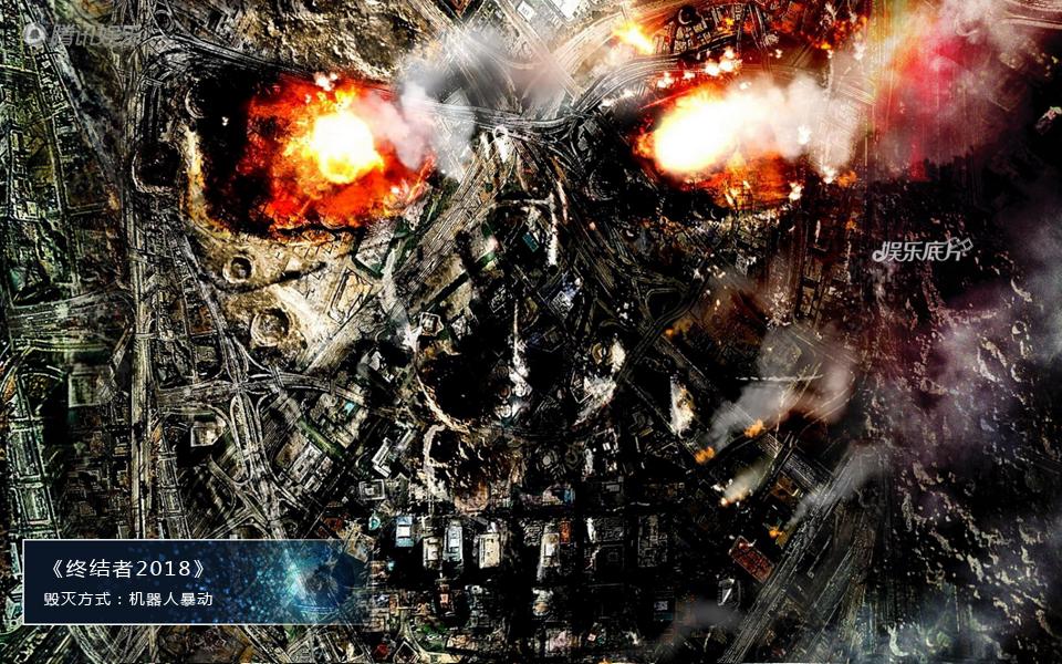 《娱乐底片》第28期:电影毁灭地球的N种方式_终结者2018