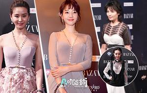 [A咖时尚]刘诗诗白百合尴尬撞衫谁更美艳