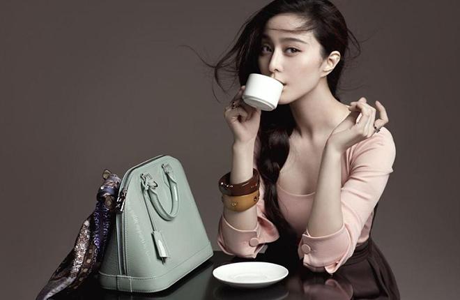 范冰冰为Louis Vuitton拍摄广告大片