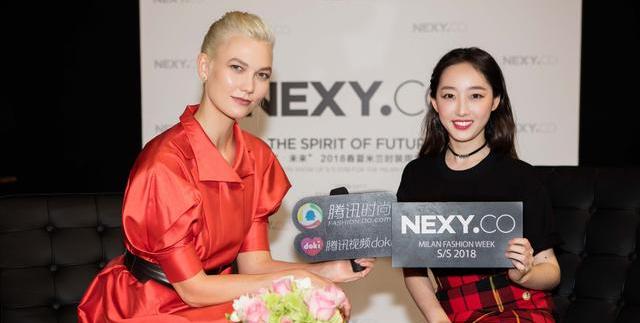 蒋梦婕和KK同台看秀 畅聊不同城市女孩的时髦心经
