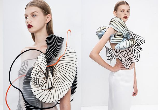 3D打印材料的时装