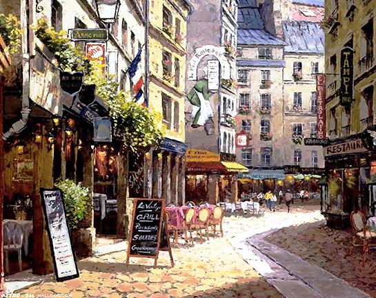巴黎买菜记