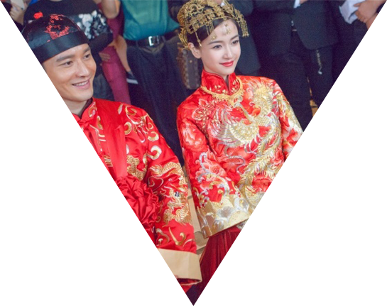 服装 婚礼 结婚 旗袍 唐装 545_431
