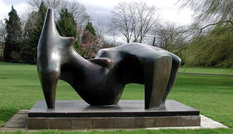 美国哥伦比亚大学 雕像reclining Figure, 1969-70