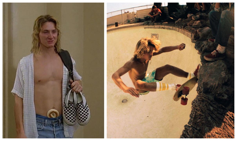 左:《开放的美国学府》剧照    右:《狗镇和滑板少年》剧照