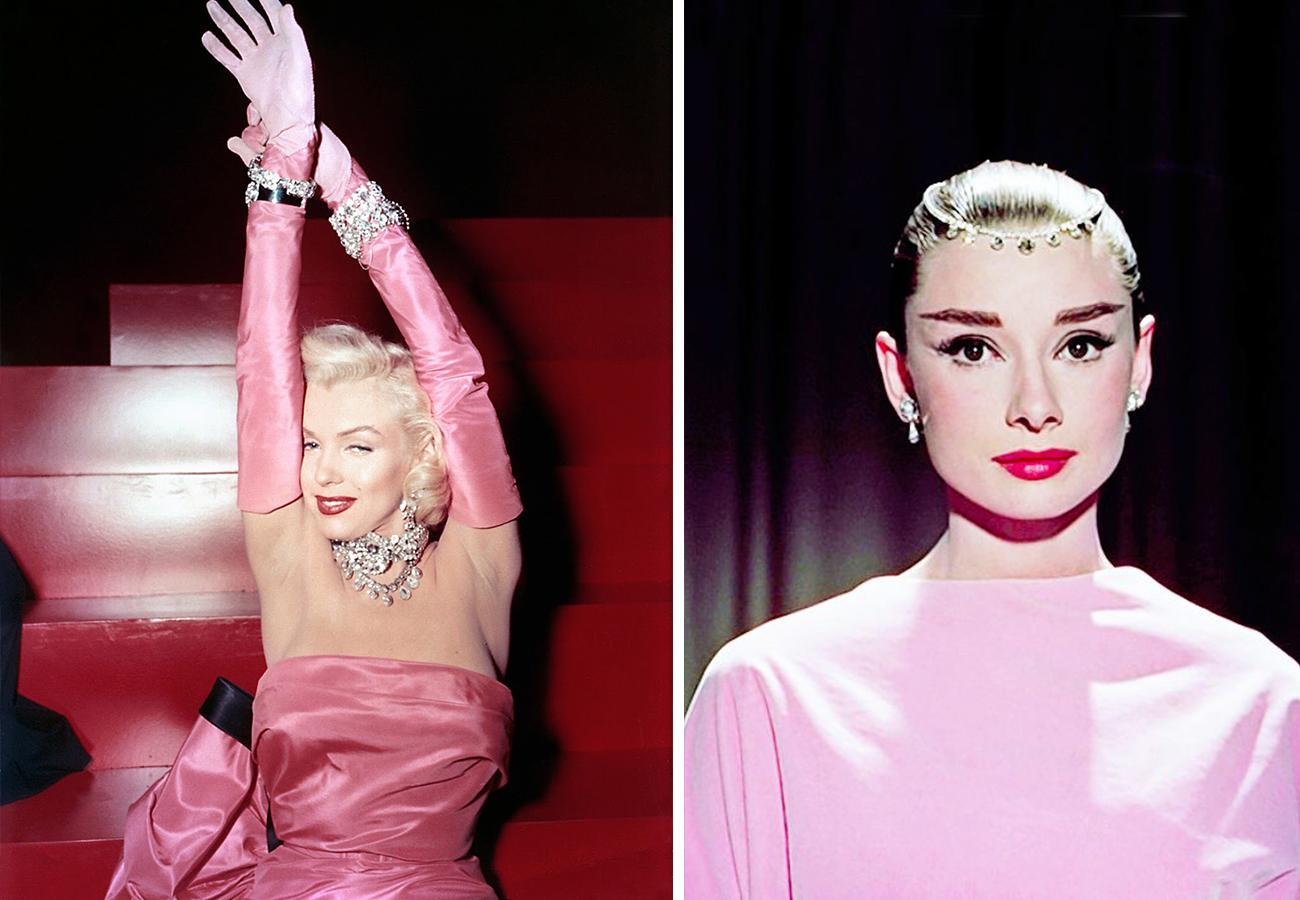 左:《绅士最爱金发美人》剧照 右:《甜姐儿》剧照