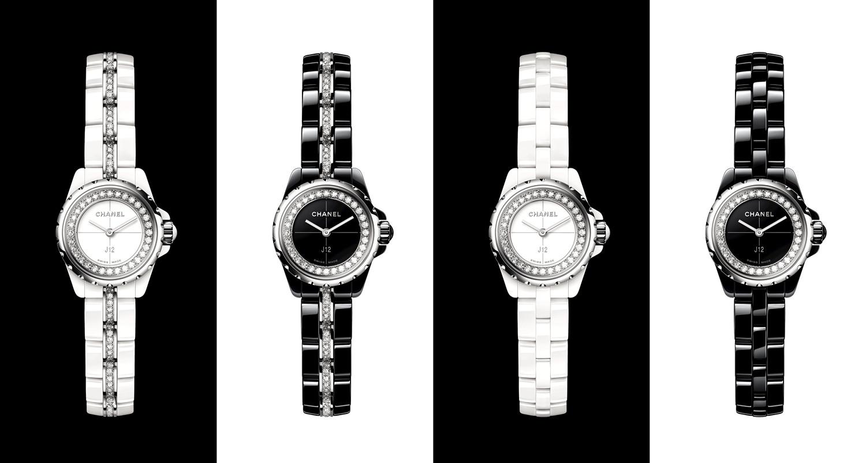 J12 ・XS白色/黑色陶瓷腕表