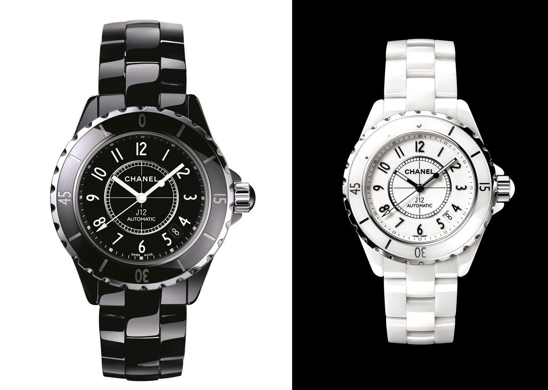 J12黑色/白色腕表