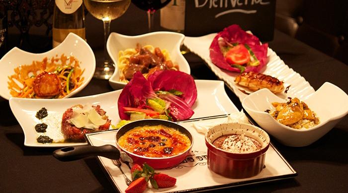 法国传统晚餐