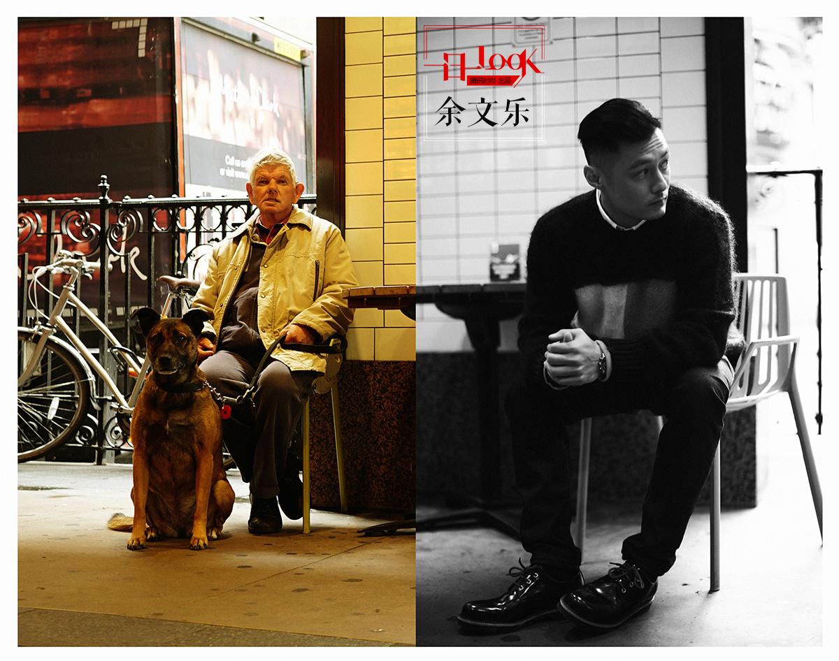 """一日一look 潮男警报 """"六叔""""余文乐毛衣皮鞋演绎成熟英伦范"""