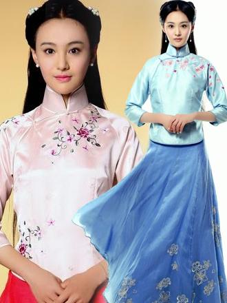 民国女模特时尚素材