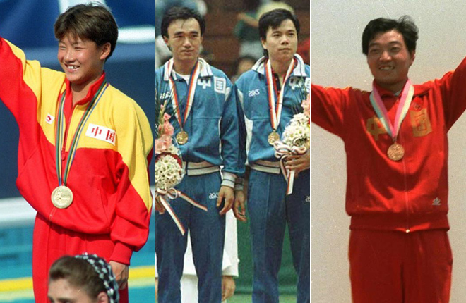 1988年汉城奥运会冠军服,1992年巴塞罗那奥运会冠军服图片