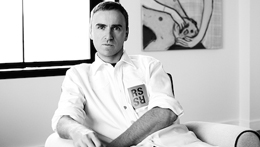 CALVIN KLEIN宣布任命Raf Simons为品牌首席创意总监