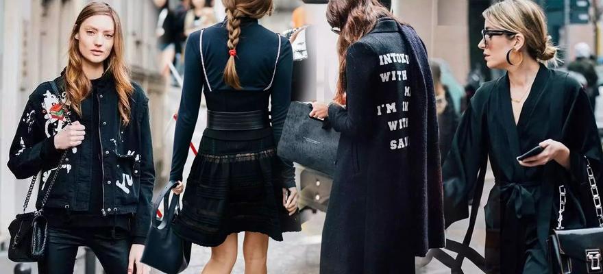 不关心流行色的我,只想把黑色穿时髦!