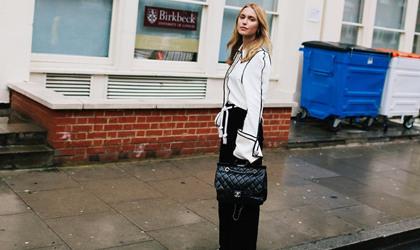 伦敦时装周的街拍 这些时髦亮点你get了吗?