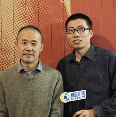 王石接受腾讯财经专访