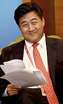 中国工商银行副行长张红力