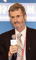 联合国全球契约组织总干事乔治科尔致辞并演讲