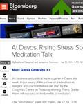 达沃斯前瞻:冥想对抗商业压力?