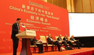 """分组会""""中国经济增长十年展望"""""""