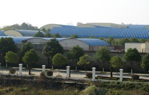 胜景山河工厂的全貌
