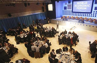 时任副总理带队参加世界经济论坛