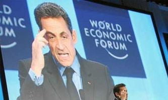 法国总统萨科奇呼吁治理全球经济失衡问题