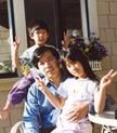 陈宏与一双儿女