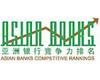 亚洲银行竞争力排名