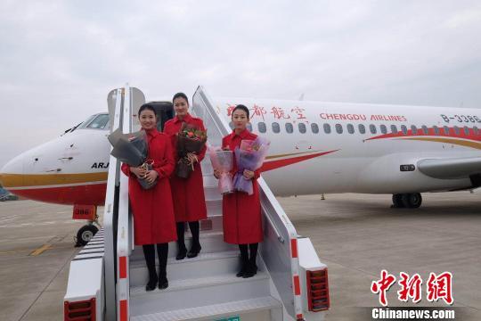 arj21执飞成都至上饶新航线 国产飞机商业运营迈进一步