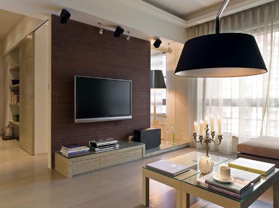 最新电视墙柜子效果图